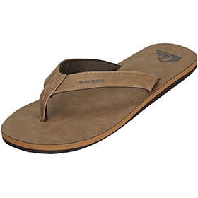 Quiksilver Molokai Nubuck Men Sandals solid tan